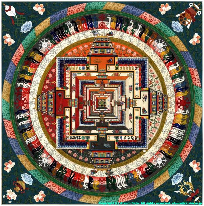 9 - Mandala mansión pintado 2