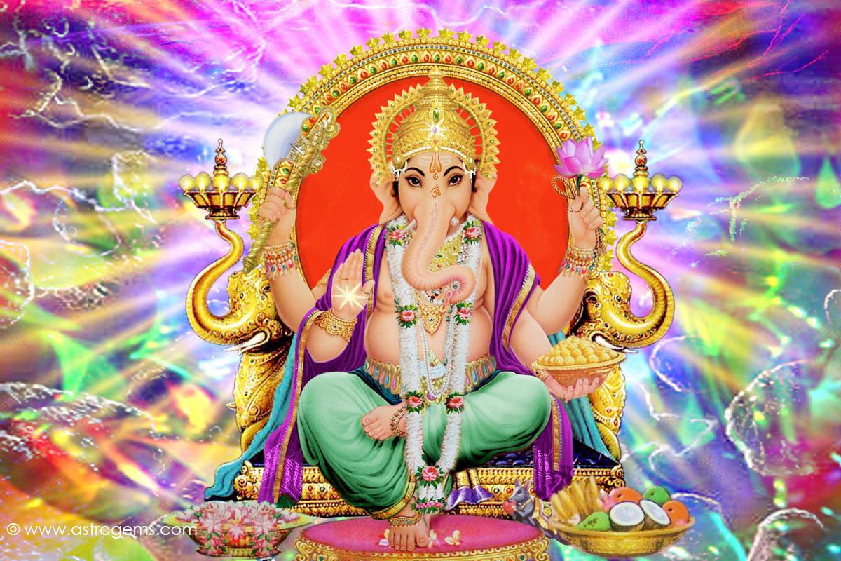 Imagen de Devata Ganesha para meditar